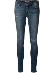 Blk Dnm Washed Slim Jeans