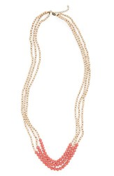 31 Bits Women's Aliza Paper Bead Necklace Rose