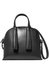 Loeffler Randall Dome Leather Satchel Black