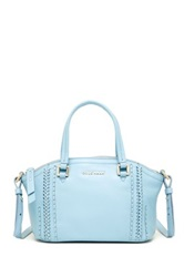 Cole Haan Nickson Mini Leather Satchel Blue