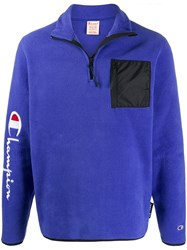Champion Patch Pocket Fleece Sweatshirt 60