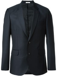 Paul Smith Fitted Single Breasted Suit Jacket Black