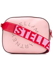 Stella Mccartney Logo Camera Bag Pink