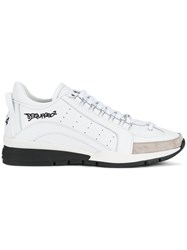 Dsquared2 551 Sneakers Calf Leather Polyurethane White