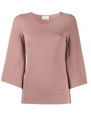 Christophe Lemaire Cropped Sleeve Knitted Top 60