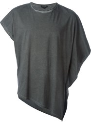 Unconditional Asymmetric T Shirt Grey