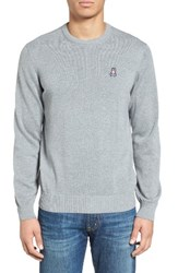 Psycho Bunny Men's Pima Cotton Crewneck Sweater
