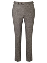 John Lewis And Co. Pilkington Tailored Suit Trousers Biscuit