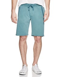 Zachary Prell Santa Croce Sweat Shorts Teal