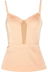 Alexander Wang Stretch Crepe Bustier Pink