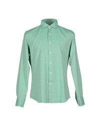 Glanshirt Shirts Shirts Men Light Green