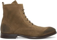 Hudson H By Tan Suede Lennon Boots
