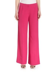 Mary Katrantzou Onyx Stretch Trousers Fuschia