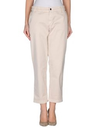 Strenesse Blue Casual Pants Beige