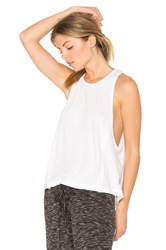 Free People Wicked Tri Blend Legend Tank White
