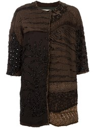 By Walid Sequin Embellished Jacket Grey