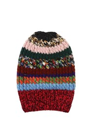 Missoni Knit Beany Hat Multicolor