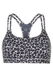 Gap Sports Bra Leopard Brown