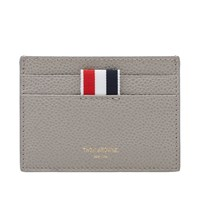 Thom Browne Single Card Holder Grey
