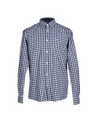 Tom Tailor Shirts Shirts Men Dark Blue