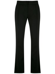 Olympiah Tailored Trousers Polyester Spandex Elastane Black