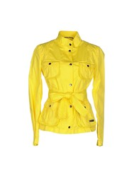 313 Tre Uno Tre Jackets Yellow