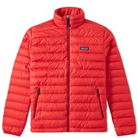 Patagonia Down Sweater Red