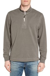 True Grit Quarter Zip Fleece Pullover Platoon