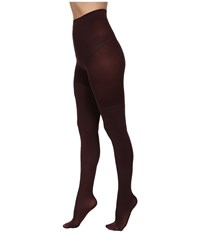 Spanx Luxe Leg Shaping Tights Umber Brick Hose Brown