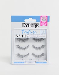 Eylure Lashes Texture 117 Multipack Black