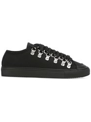 J.W.Anderson Canvas Sneakers Black