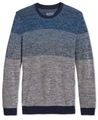 American Rag Men's Ombre Sweater Only At Macy's Basic Navy