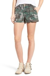 Pam And Gela Women's Camo Twill Shorts