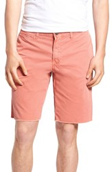 Original Paperbacks Men's 'St. Barts' Raw Edge Shorts Persimmon