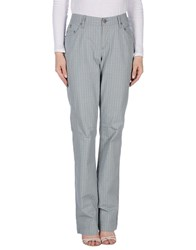 Jaggy Casual Pants Sky Blue