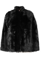 Karl Donoghue Shearling Jacket Black