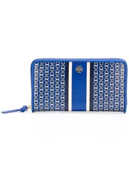 Tory Burch All Around Zip Wallet Blue