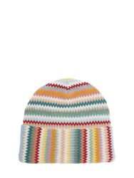 Missoni Lurex Multi Color Beanie Multicolor