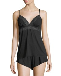 Cosabella Sweet Dreams Lace Trim Camisole Black