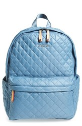 M Z Wallace Mz Wallace 'Metro' Quilted Oxford Nylon Backpack Blue Cloud