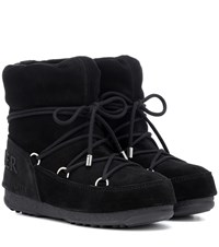 Moncler X Moon Boot Hamal Ankle Boots Black