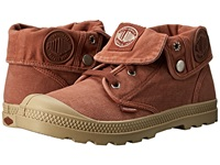 Palladium Baggy Low Lp Burnt Brick Putty Women's Lace Up Boots Orange