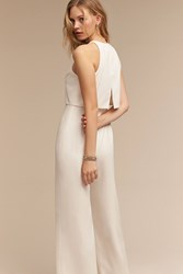 Anthropologie Gabby Jumpsuit Ivory