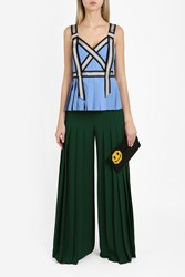 Marco De Vincenzo Wide Pleated Trousers