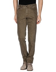 Alviero Martini 1A Classe Denim Denim Trousers Men Military Green