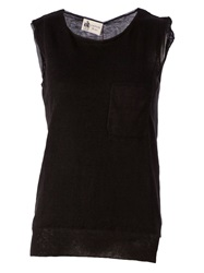 Lanvin Sleeveless Sweater Black