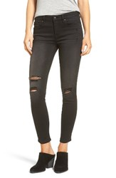 Vigoss Women's Chelsea Ripped High Rise Skinny Jeans