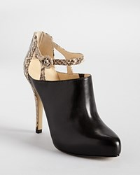 Enzo Angiolini Booties Yoursonly Ankle Strap Black