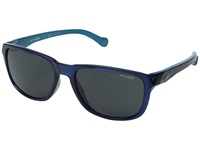 Arnette Straight Cut Dark Blue Sky Blue Grey Sport Sunglasses