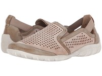 Rieker R3425 Liv 25 Taupe Clay 1 Women's Slip On Shoes Brown